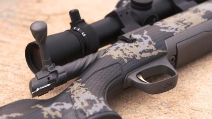Rafe Nielsen of Browning shows Haynes Shelton the newest addition to the X-Bolt series and why its features make it a perfect hunting rifle.