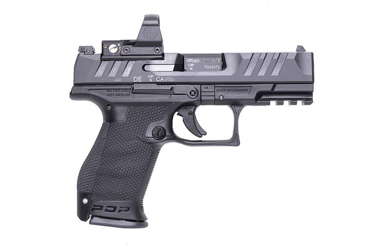 Walther PDP 9mm Pistol with Red Dot Sight
