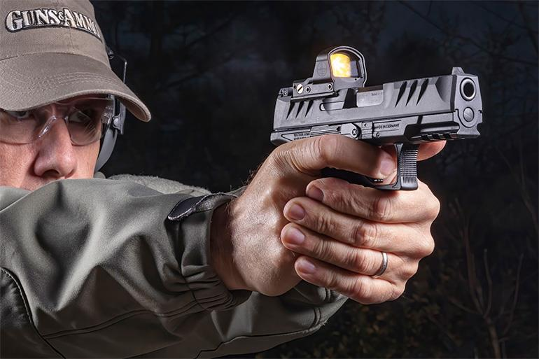 Walther PDP 9mm Pistol in Action