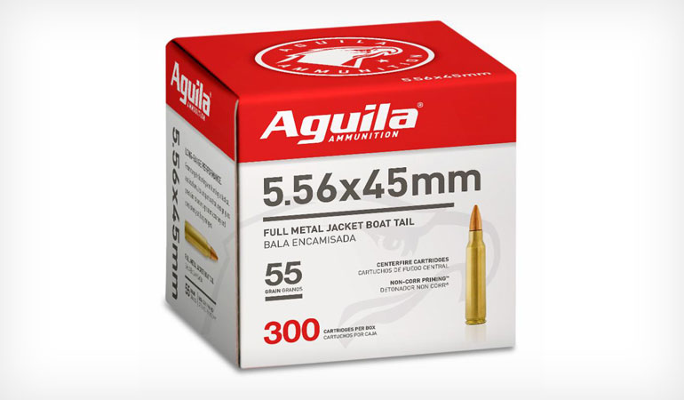 Aguila Ammunition Announces Bulk Packaging for 5.56 Rifle Ammo