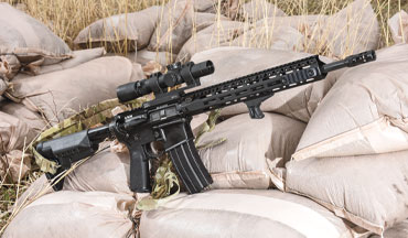 The Bravo Company MK12 MCMR in .300 BLK is reliable and accurate.