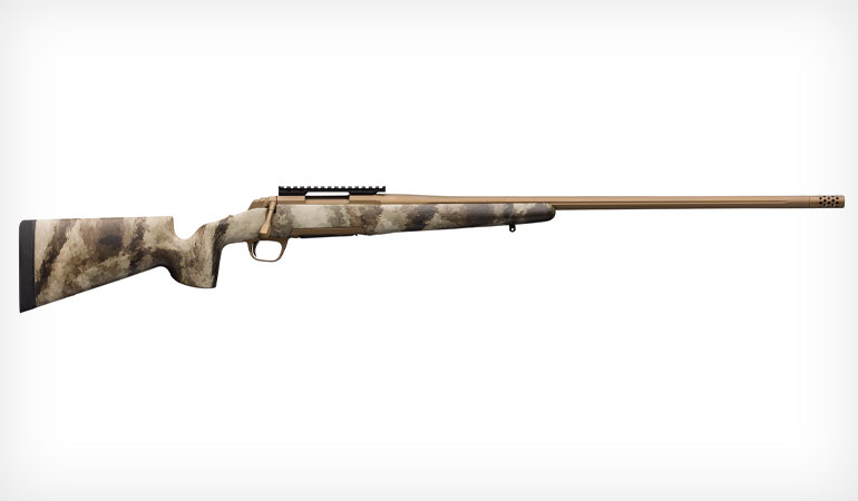 Big game hunters in search of an accurate, long-range rifle need look no further than Browning and the new X-Bolt Hell's Canyon Speed Long Range McMillan.
