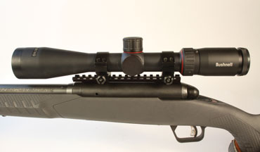 The Bushnell Nitro line of riflescopes deliver good performance at a good price, and the the 4-16x44mm model is no different.