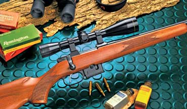 The CZ Model 527 is accurate and handy, and with that set trigger, it will prove to be a great companion in the woodchuck fields.