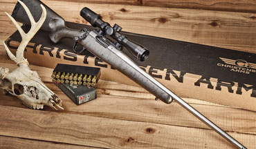 The Christensen Arms lightweight Mesa Titanium Edition bolt-action hunting rifle is a peak performer.