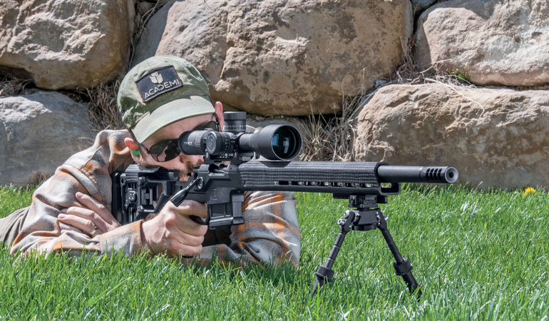Christensen Arms' MPR is a great lightweight long-range rifle, thanks in part to its carbon-fiber components.