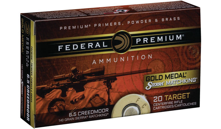 Federal Premium has expanded its Gold Medal rifle ammunition line with hot new loads in 6.5 Creedmoor and 6mm Creedmoor.
