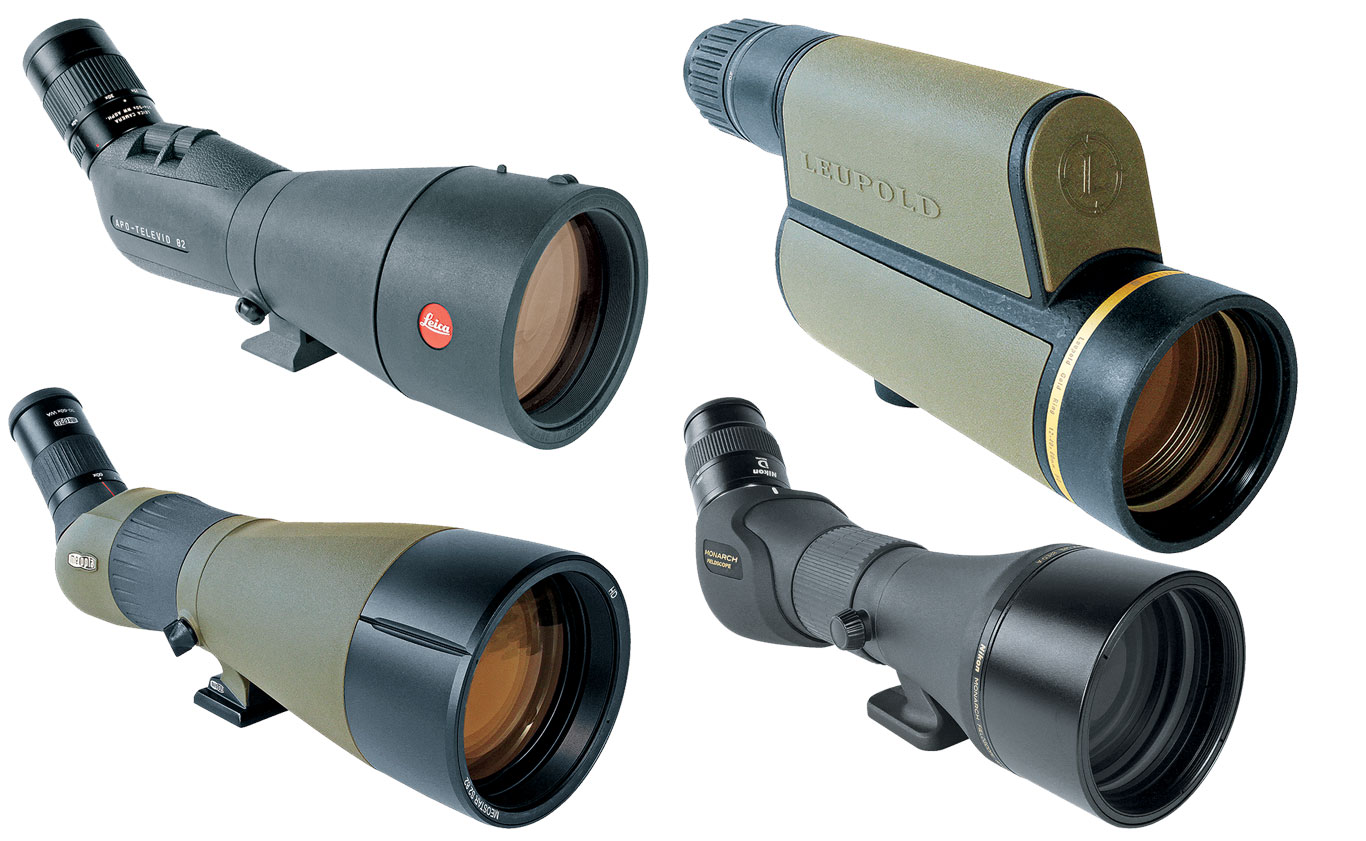 A good spotting scope is worth its weight in gold. Here's a look at four excellent options.