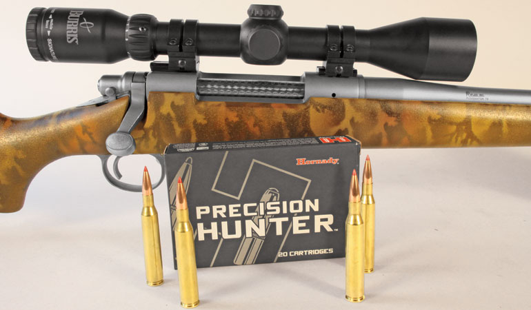 The .25-06 Rem. features a 110-grain ELD-X bullet with a G1 ballistic coefficient of .465 (G7 is .234).