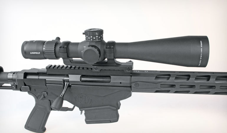 Enter Leupold's new Mark 5HD, which is up to 20 ounces lighter than comparable optics.