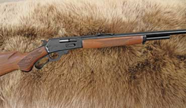 The Marlin Model 1895-.444 Marlin is a handy, powerful rifle capable of taking down elk, moose, hogs, black bear and deer.