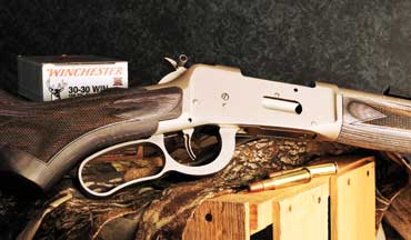 The Mossberg Model 464 Brush Gun starts with the tried-and-true Mossberg lever action that was introduced in 2008, but the Davidson's exclusive Brush Gun version takes it to the next level.
