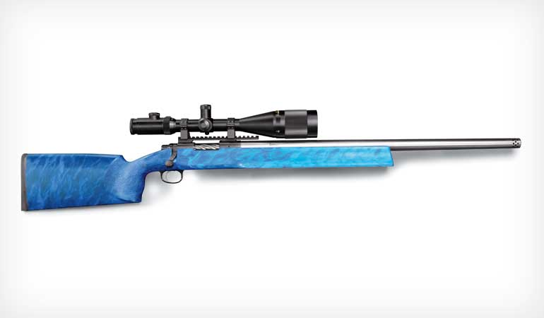 Custom-built Remington 700 chambered for the popular 6.5 creedmoor.