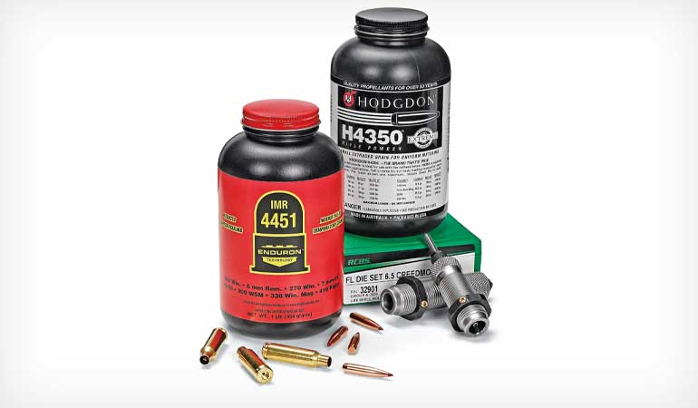 6mm and 6.5 Creedmoor Precision Ammo Reloading