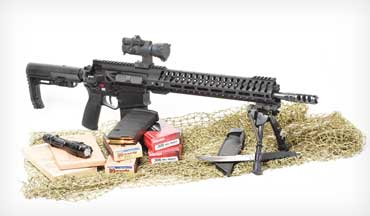 In a nifty piece of engineering, POF-USA puts .308 power in the AR-15 platform.