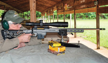 Savage Arms ups its competition-rifle game with a super-accurate new chassis gun, the Elite Precision.