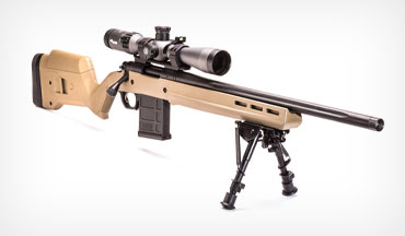 The Remington Model 700 Magpul Enhanced is a feature-packed rifle whose stock seeks to wring out every little bit of the barrel's accuracy potential without dinging the wallet too harshly.