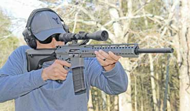 The Rise Armament RA-303H feels like a purpose-built rifle—because that's what it is.