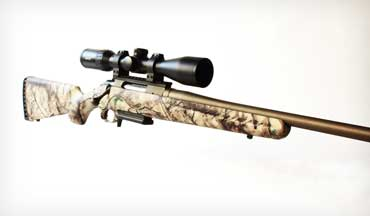 Ruger realized some hunters want some pizzazz with their rifle and created the Go Wild version of the Ruger American.