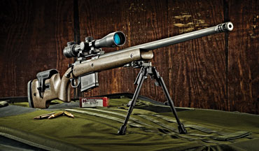 The Ruger Hawkeye Long-Range Target is a performance rifle that won't break the bank.