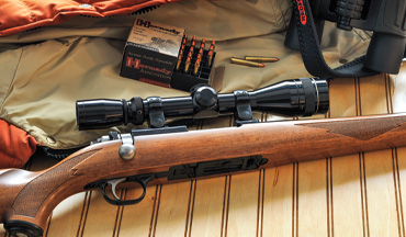 If you're a varminter or a .22 Hornet fan, this Ruger Model 77/22 certainly deserves a look!