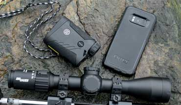 The SIG Sauer BDX System allows you to connect your smartphone, optic and rangefinder, which makes connecting with your target easy.