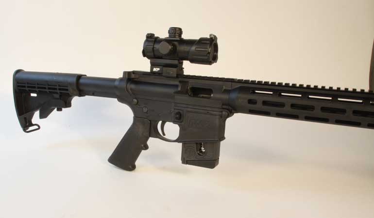 Smith & Wesson M&P15-22 Sport Optics Ready Review