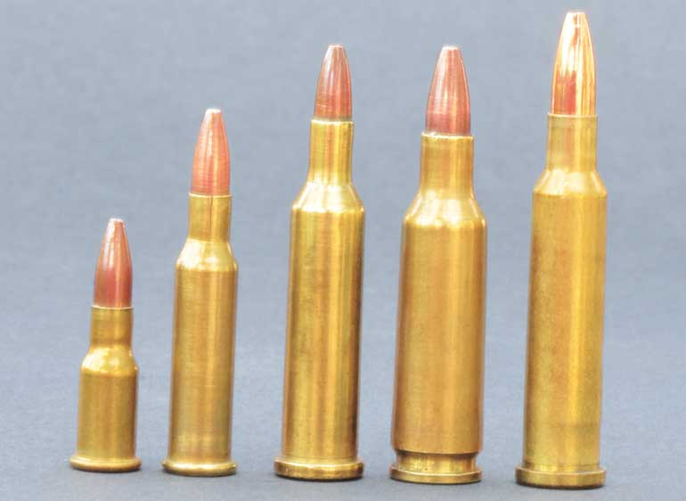 17-Caliber Reloading Data and History for 5 Cartridges
