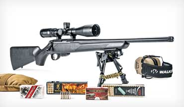 The Tikka T1x MTR (Multi-Task Rimfire) is being marketed as a hunting rimfire rifle, and at first glance the rifle could easily be mistaken for one of its T3 big brothers.
