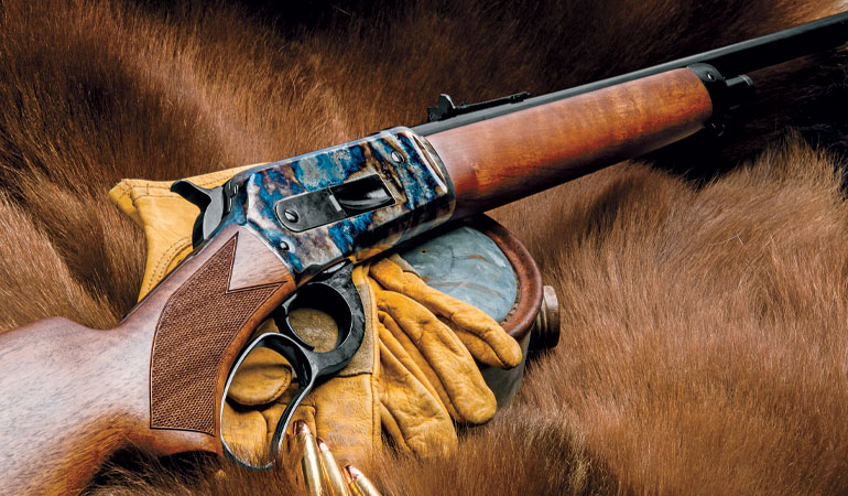 The 1886 Lite Hunter from Uberti couples fast handling with serious firepower.