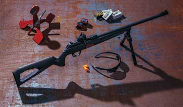 Winchester Repeating Arms releases the new autoloading Wildcat 22 LR rimfire rifle.