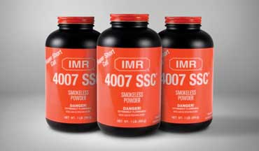 IMR Legendary Powders has officially announcing a product safety warning and recall notice for IMR 4007SSC smokeless powder. All lots of powder are included in the recall.