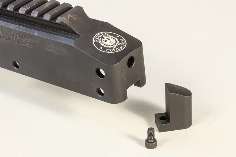 Ruger 10/22 Competition covered port