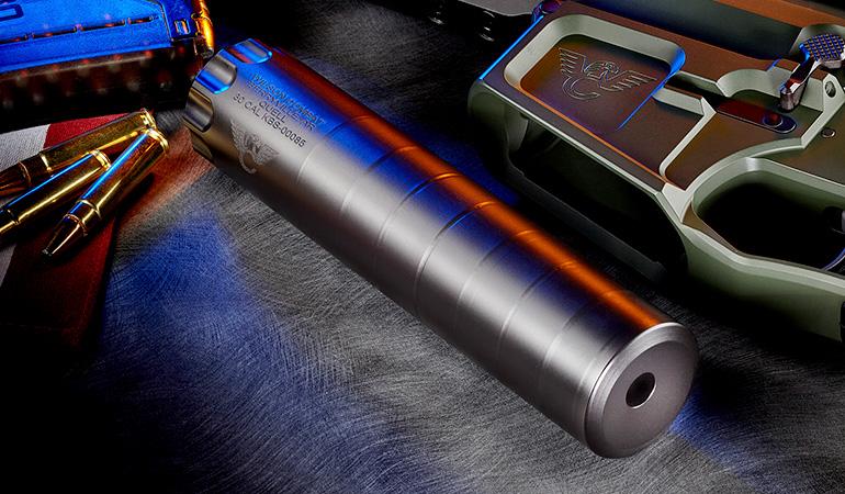 Wilson Combat Lightweight Suppressor – QUELL Titanium
