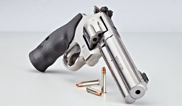 The .22 Magnum revolvers are still poppin' and still popular—and some are made for self-defense, while others are built for hunting small game and plinking.