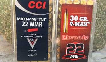 Would you take the extra power and pop of the .22 Magnum over the more price-effective .22 LR? Here's one man's opinion.
