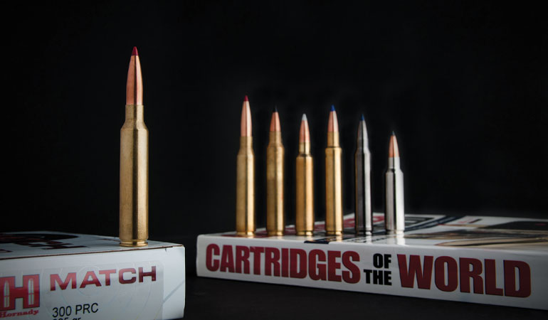 Designed specifically for ELR (extra long range) use, the Hornady .300 PRC is optimized for shooting way, way out there.