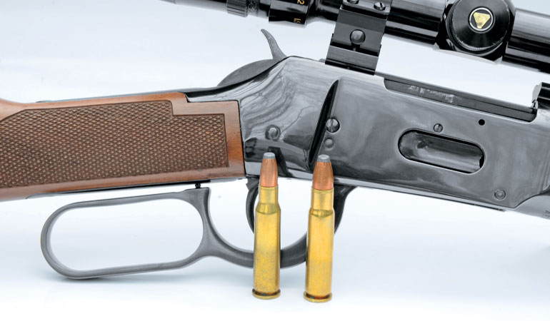 The .307 Winchester and .356 Winchester Lever-Action Cartridges