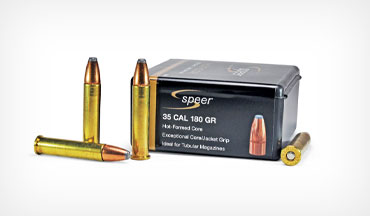 In single-shot firearms, .35-caliber rifle bullets are great performers in the .357 Maximum cartridge.