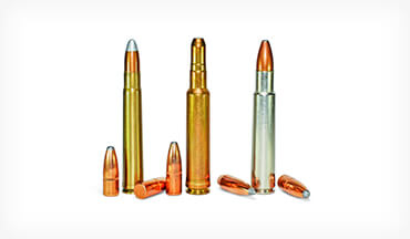Created in 1953, this big, powerful rifle cartridge had 43 percent more case capacity than the .375 H&H.