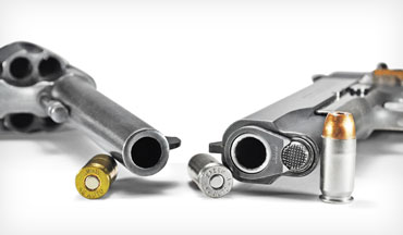 How can a shorter-barrel revolver have higher velocities than a longer-barrel semiauto pistol? Here's why.