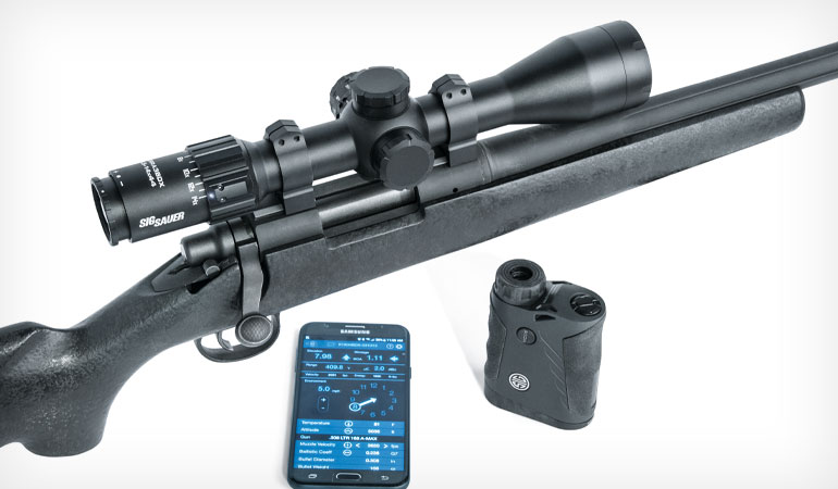 SIG SAUER's new optics system pairs the 'smart' capabilities of the KILO BDX rangefinder and Sierra3 BDX scope to provide effective long-range field solutions.