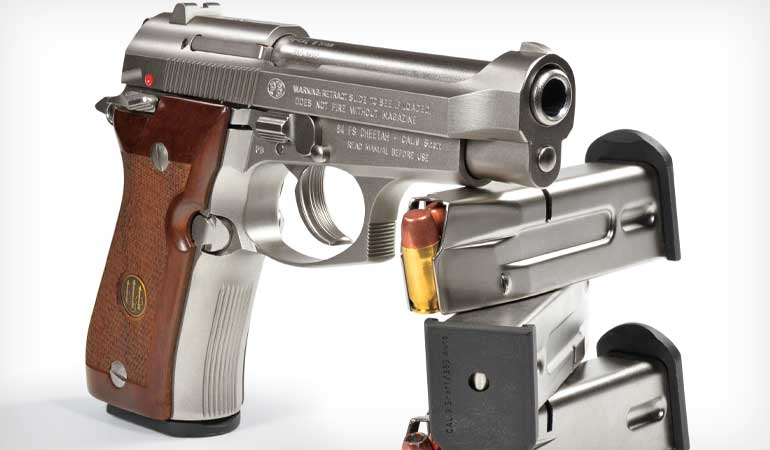 Beretta 84FS Pistol Review