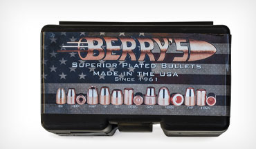 Berry's product line is extensive; in addition to making over 60 types of bullets, the firm also makes and sources many items for the reloader.