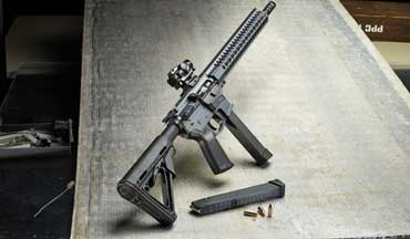 The 9mm GUARD AR-15 from CMMG has been revamped to accept Glock pistol magazines.