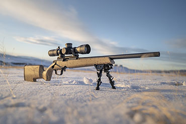 Christensen has announced the Ranger 22, a rimfire rifle with a carbon fiber tension barrel built for competition shooters and small game hunters alike.