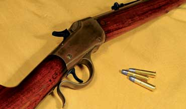 In all the world, there is no rifle more fun to carry and shoot than a vintage American single shot, such as the Winchester Low Wall.