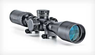 Crimson Trace enters the riflescope business with the Crimson Trace CTL-3420 4-20X 50mm.