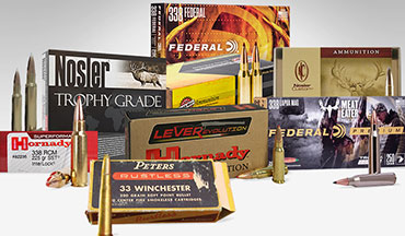 Starting in the late 1950s, the .338-bore size gained considerable traction — thanks to the .338 Winchester Magnum. Why? Because hunters are often after game bigger and tougher than whitetails. Here's a list of the .338-caliber greats in chronological order in which they were introduced.