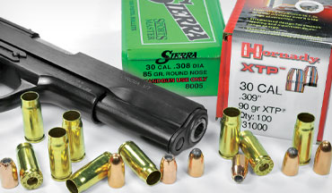 The bottleneck 7.62x25 Tokarev is a fun cartridge, and handloading it increases the round's versatility.